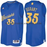 Maillot Authentique Noel Golden State Warriors Durant 2016-17 Bl