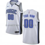 Maillot Orlando Magic Personnalise 2017-18 Blanc