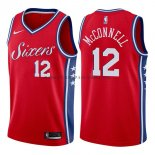 Maillot Philadelphia 76ers T.j. Mcconnell Statehombret 2017-18 R