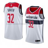 Maillot Washington Wizards Jeff Green Association 2018 Blanc