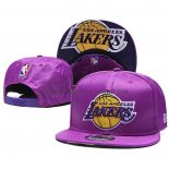 Casquette Los Angeles Lakers 9FIFTY Snapback Volet3