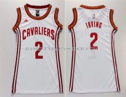 Maillot Femme Cleveland Cavaliers Irving Blanc