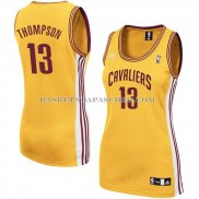 Maillot Femme Cleveland Cavaliers Thompson Jaune