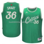 Maillot Noel Boston Celtics Smart 2015 Vert
