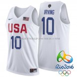 Maillot USA 2016 Irving Blanc