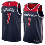 Maillot Washington Wizards Devin Robinson Statement 2018 Bleu