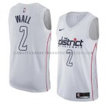 Maillot Washington Wizards John Wall Ciudad 2018 Blanc