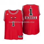 Maillot Enfant Noel Chicago Bulls Rose 2014