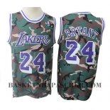 Maillot Los Angeles Lakers Kobe Bryant Camouflage Vert