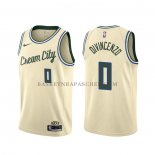 Maillot Milwaukee Bucks Donte Divincenzo Ville Crema
