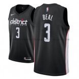 Maillot Washington Wizards Bradley Beal Ciudad 2018-19 Noir