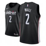 Maillot Washington Wizards John Wall Ciudad 2018-19 Noir