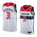 Maillot Washington Wizards Tomas Satoransky Association 2018 Bla