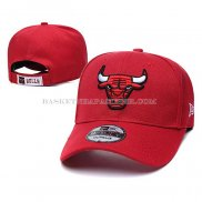 Casquette Chicago Bulls 9FIFTY Snapback Rouge