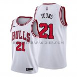 Maillot Chicago Bulls Thaddeus Young Association Blanc