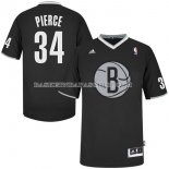 Maillot Noel Brooklyn Nets Pierce 2013 Noir
