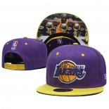 Casquette Los Angeles Lakers Kobe Bryant 9FIFTY Volet Jaune