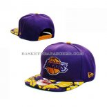 Casquette Los Angeles Lakers New Era 9Fifty Purpura