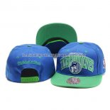 Casquette Minnesota Timberwolves New Era 9Fifty Bleu Vert