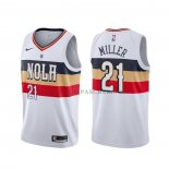 Maillot New Orleans Pelicans Darius Miller Earned Blanc