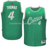 Maillot Noel Boston Celtics Thomas 2015 Vert