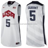 Maillot USA 2012 Durant Blanc