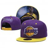Casquette Los Angeles Lakers Kobe Bryant 9FIFTY Snapback Volet