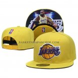Casquette Los Angeles Lakers Lebron James 9FIFTY Snapback Amarill