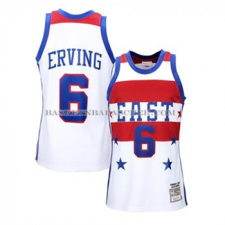 Maillot All Star 1980 Erving Blanc