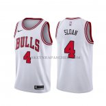 Maillot Chicago Bulls Jerry Sloan Association Blanc