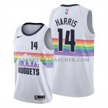 Maillot Denver Nuggets Gary Harris Ville Edition Blanc