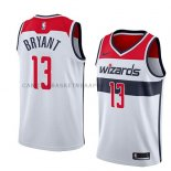 Maillot Washington Wizards Thomas Bryant Association 2018 Blanc