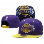 Casquette Los Angeles Lakers 9FIFTY Snapback Volet Or