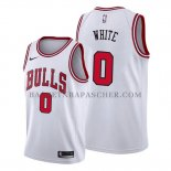 Maillot Chicago Bulls Coby White Association 2019-20 Blanc
