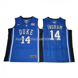 Maillot NCAA Duke Blue Devils Brandon Ingram Bleu