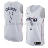 Maillot Washington Wizards Devin Robinson Ciudad 2018 Blanc