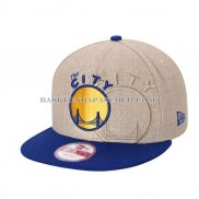 Casquette Golden State Warriors New Era 9Fifty The City Gris