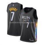 Maillot Brooklyn Nets Kevin Durant Ville 2020-21 Noir