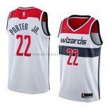 Maillot Washington Wizards Otto Porter Jr. Association 2018 Blan