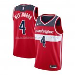 Maillot Washington Wizards Russell Westbrook Icon 2020-21 Rouge