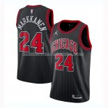 Maillot Chicago Bulls Lauri Markkanen Statement 2020-21 Noir