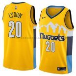 Maillot Denver Nuggets Tyler Lydon Statement 2018 Jaune