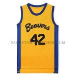 Maillot Film Beavers Howard Jaune