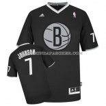 Maillot Noel Brooklyn Nets Johnson 2013 Noir