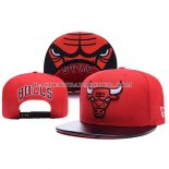 Casquette Chicago Bulls Leather Rouge