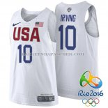 Maillot Authentique USA 2016 Irving Blanc