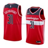 Maillot Washington Wizards Tomas Satoransky Icon 2018 Rouge