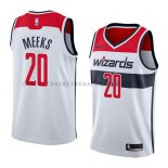 Maillot Washington Wizards Jodie Meeks Association 2018 Blanc