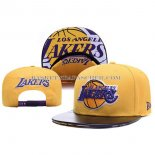Casquette Los Angeles Lakers Leather Orange