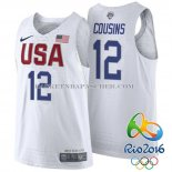 Maillot Authentique USA 2016 Cousins Blanc